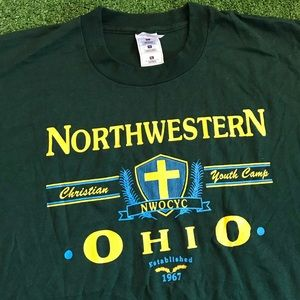 Northwestern Ohio Youth Camp 96' Staff T Shirt